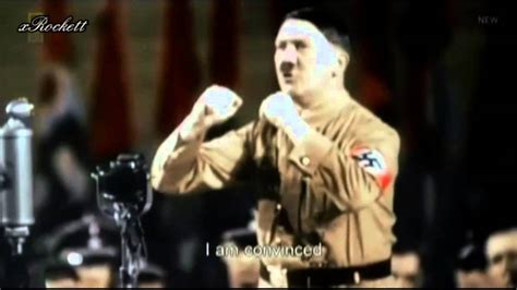 Adolf Hitler speeches HD Colour (English Subtitles) - YouTube