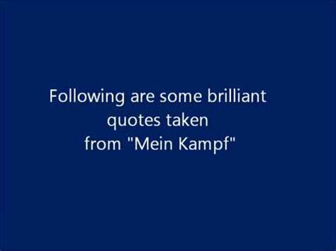 Adolf Hitler Tribute Most Powerful Quotes From Mein Kampf ...