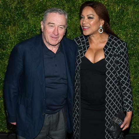 Adorable couple Robert De Niro and Grace Hightower