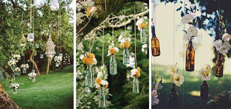 Adornos imprescindibles para bodas en jardines - Dimeic