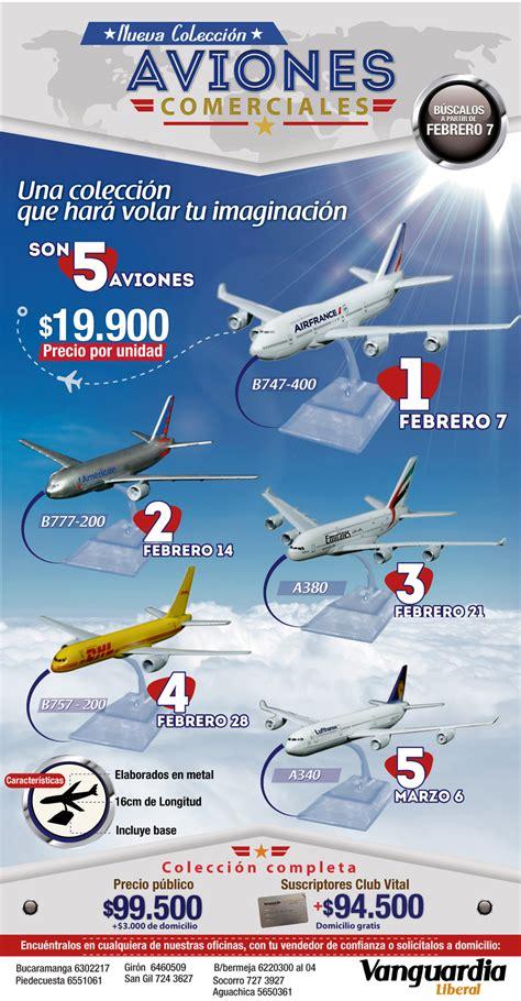 Adquiere tu colección de aviones comerciales con ...