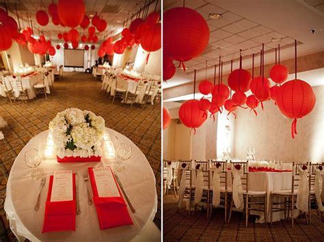 adult red and white birthday party | Adult Birthday Themes ...