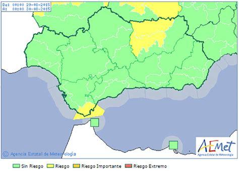 Aemet activa la alerta amarilla en el Estrecho por viento ...