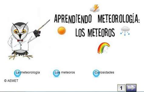 AEMET fomenta la divulgación de la meteorología y ...