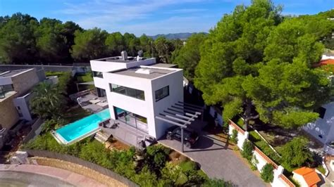 Aerial tour of Luxury Ibiza Villa Can Mono   YouTube