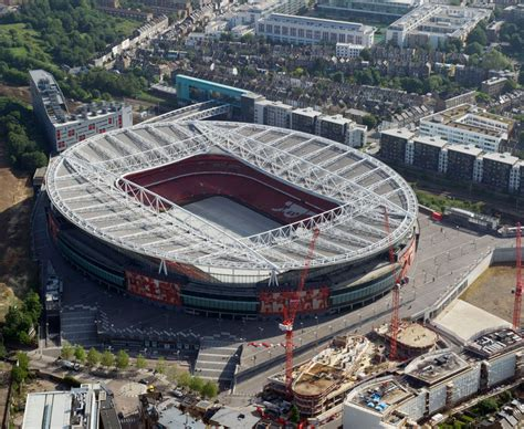 Aerial views of London football stadiums | Sports pictures ...