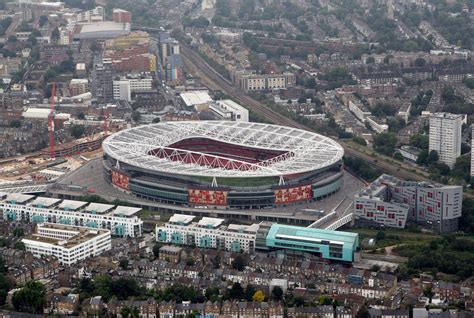 Aerial Views Of London Football Stadiums - Zimbio