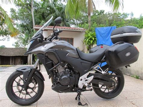 Afastador De Alforge E Bagagem Moto Honda Cb 500 X Cb500x ...