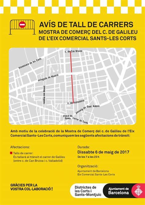 Afectacions al trànsit al carrer de Galileu - El Digital D ...