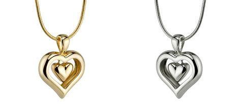 Affordable Heart Pendant Cremation Jewelry for Ashes ...