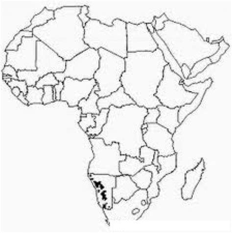 Africa Pa Coloring Pages