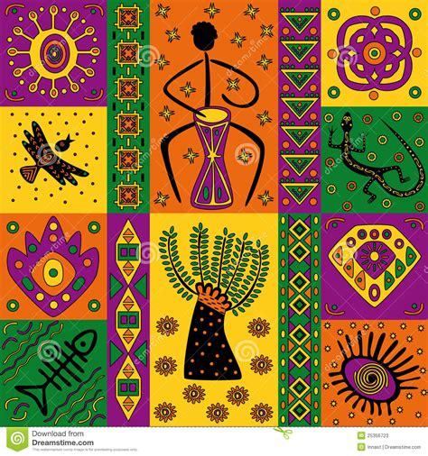 African pattern stock vector. Illustration of geometric ...