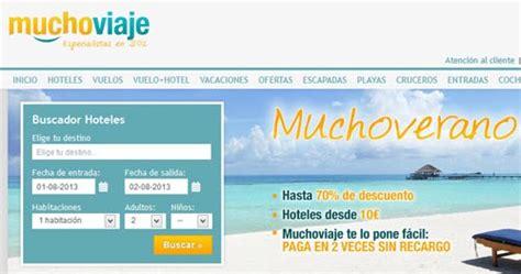 Agencias de viajes: Mucho Viaje | Datos Vuelos - viajar ...