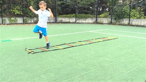 Agility Ladder drills for kids ages 5+ - YouTube
