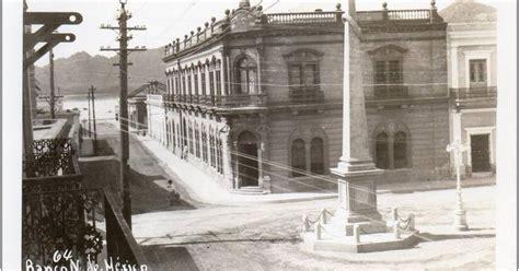 aguas abajo: Banco Nacional de Mexico, Guaymas, c1904