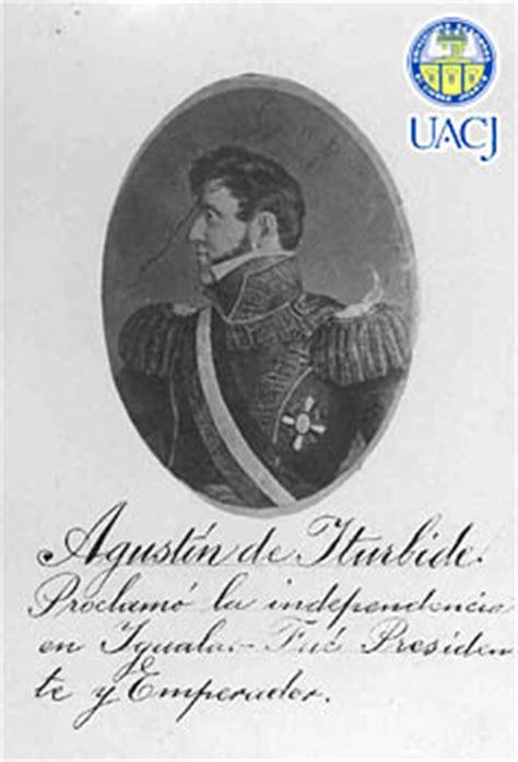 Agustín de Iturbide : proclamó la independencia en Iguala ...