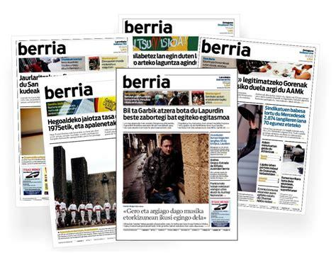 Aiaraldeko berbalagunak: BERRIA egunkaria %50 merkeago ...