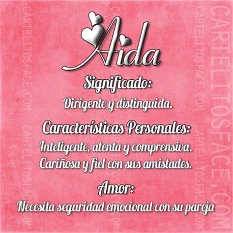 Aida - Carteles y Frases para compartir en Facebook
