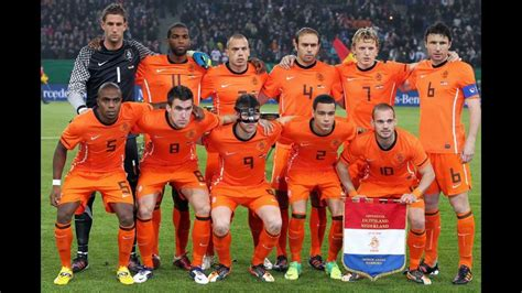 Aijolt Brongers and the Netherlands National Football Team ...