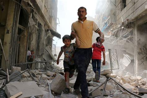 Air strikes on Syria s Aleppo kill 25