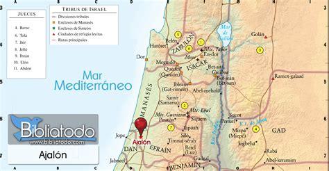 Ajalón - Mapa y Ubicación Geográfica
