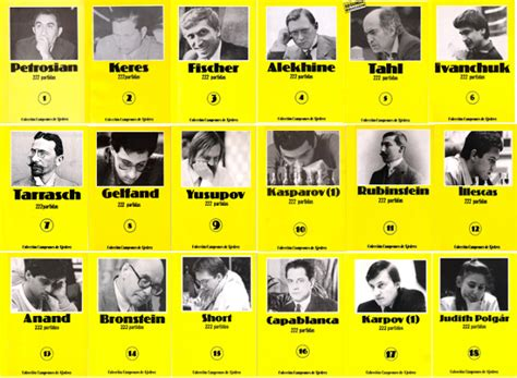 Ajedrez, la lucha continúa: 18 Libros en pdf de la ...