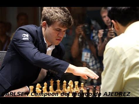 Ajedrez - Magnus CARLSEN Campeón del mundo de ajedrez 2013 ...