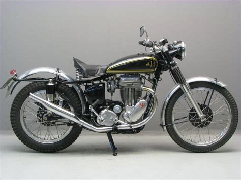 AJS 1951 18C 500 cc 1 cyl ohv - Yesterdays