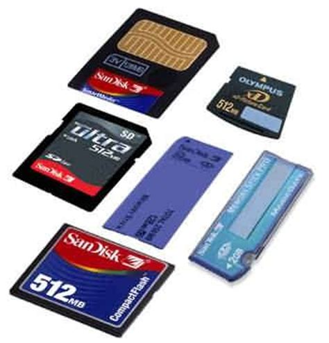 AKM Computer : Different Types of Memory Cards