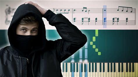 Alan Walker - Faded - Piano Tutorial + SHEETS - YouTube