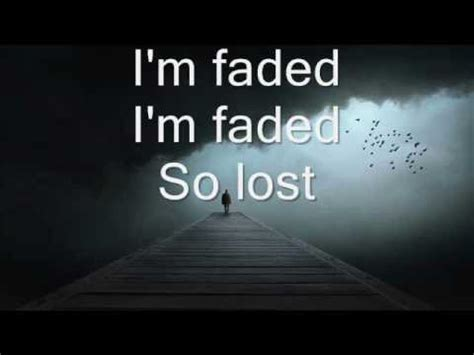 Alan Walker - Faded (Where are you now) Lyrics - YouTube