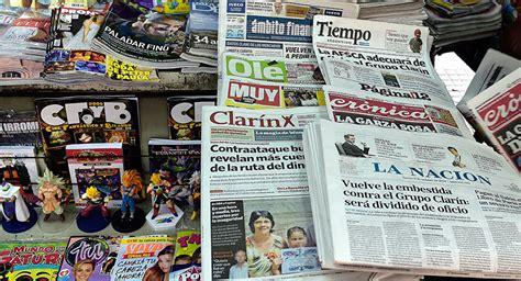 Alarmante situación del periodismo en la Argentina ...