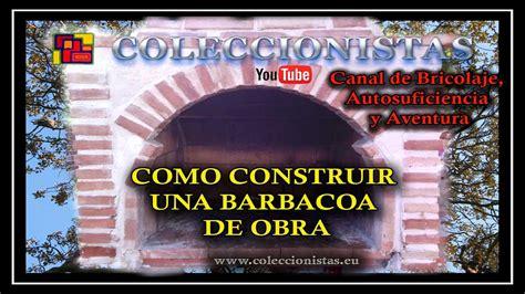 Albañilería   Como hacer una barbacoa de obra   YouTube
