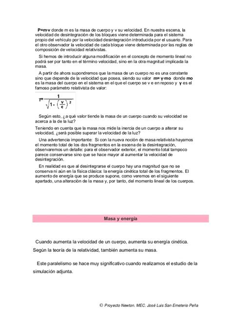 Albert Einstein / Teoria de la Relatividad