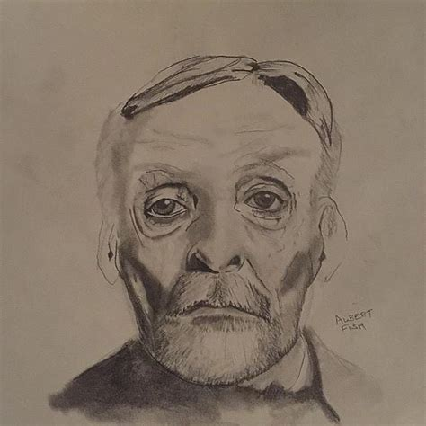Albert Fish Drawing by Kendall Tabor
