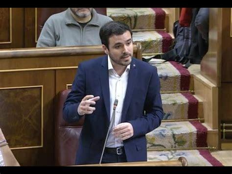 Alberto Garzon defiende una Comisión de Investigación d ...