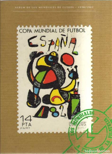 album de los mundiales de futbol 1930-1982 cop - Comprar ...