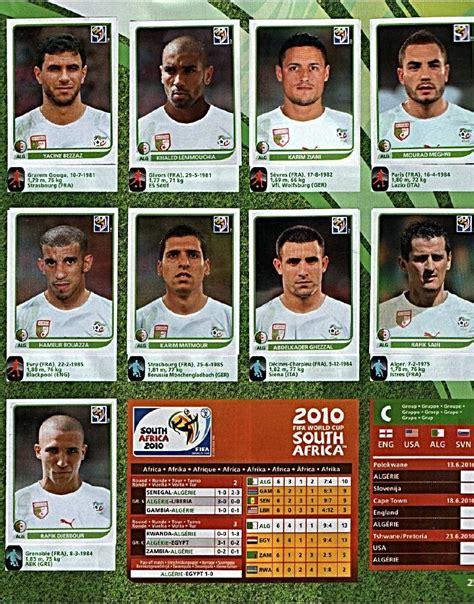 Album figuritas: Mundial Sudafrica 2010   Deportes   Taringa!