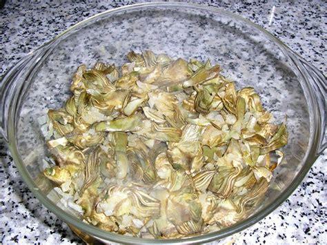 Alcachofas de acompaamiento o para tortilla (microondas)