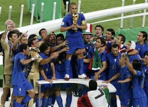 Alemania 2006: Un Mundial muy dulce para Italia