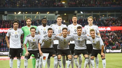 Alemania confirma lista de 22 jugadores que van a ...
