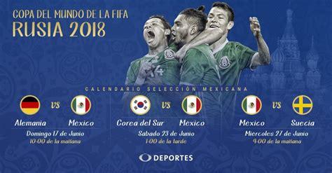 Alemania, Corea del Sur y Suecia, rivales de México en ...