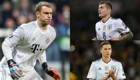 Alemania en Rusia 2018: el once de los hinchas de la ...