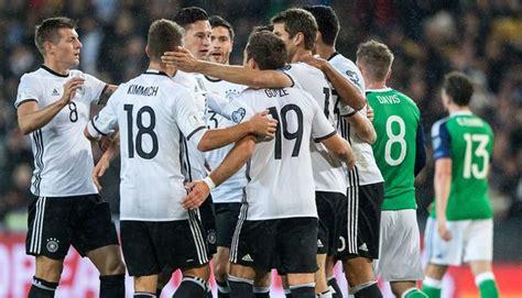 Alemania puede armar hasta cuatro equipos competitivos ...