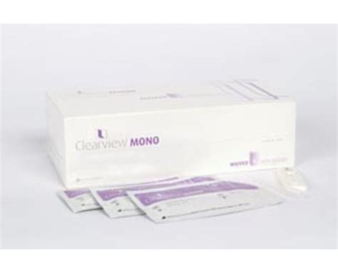 Alere Clearview Mono Plus Test Kit - save at Tiger Medical ...