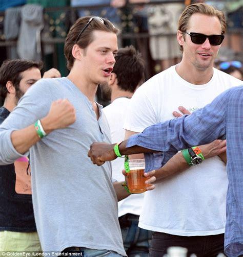 Alexander Skarsgard and brother Bill show off striking ...