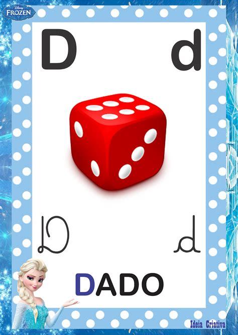 Alfabeto 4 Tipos de Letra Frozen para imprimir grátis ...