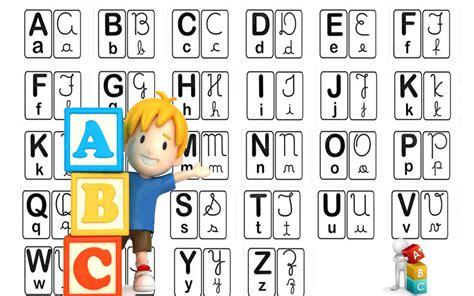 Alfabeto 4 tipos de letras   Atividades Educativas