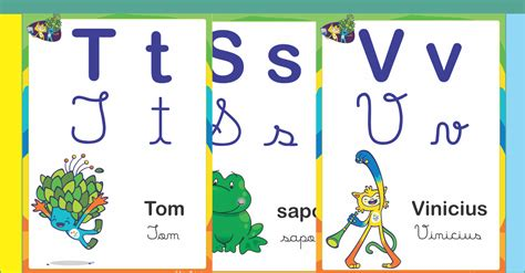 Alfabetos Ideia Criativa