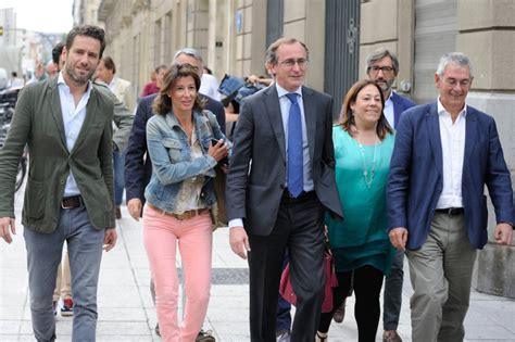 Alfonso Alonso será el candidato del PP a lehendakari ...